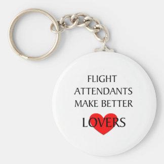 Flight Attendants Make Better Lovers Key Chains