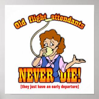 Flight Attendants Print