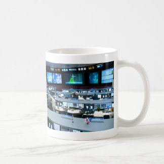 Flight Control Room Johnson Space Center Coffee Mug