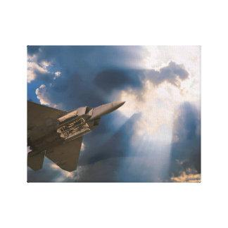 Flight From Heaven Canvas Print