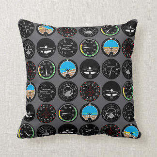 Flight Instruments Cushion
