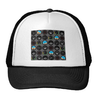 Flight Instruments Mesh Hats