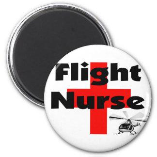 """Flight Nurse"" Unique Gift Ideas Magnet"