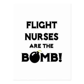 Flight Nurses Are The Bomb! Postcard