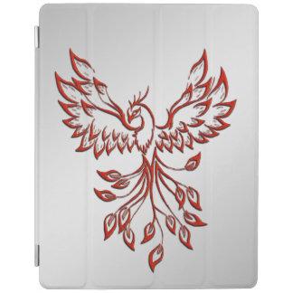 Flight of A Phoenix Silver iPad Cover
