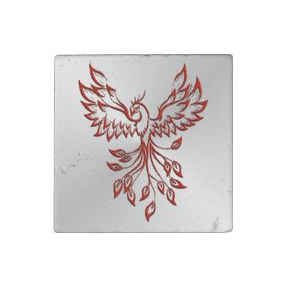 Flight of A Phoenix Stone Magnet