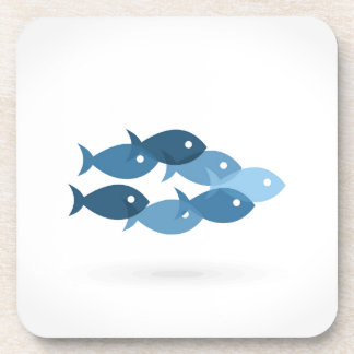 Flight of fishes5 coaster