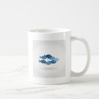 Flight of fishes5 coffee mug