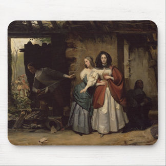 Flight of Henrietta-Maria France, Queen of Mouse Pad
