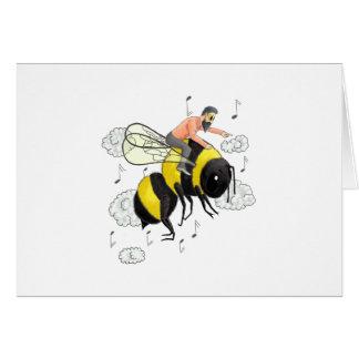 Flight of the Bumblebee by Nicolai Rimsky-Korsakov Card