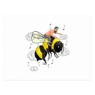 Flight of the Bumblebee by Nicolai Rimsky-Korsakov Postcard