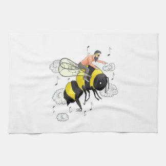 Flight of the Bumblebee by Nicolai Rimsky-Korsakov Tea Towel