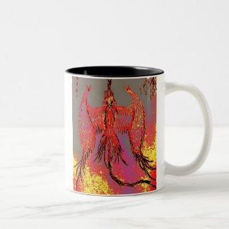 Flight of the Pheonix Two-Tone Coffee Mug