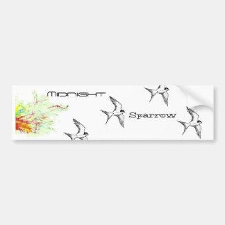 Flight Of The Sparrows Bumper Sticker