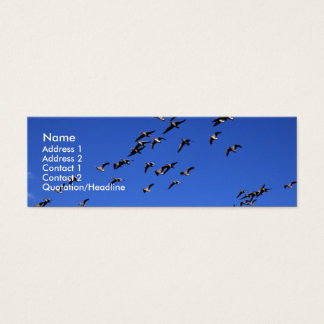 Flight of the Wild Geese | Mini Business Card