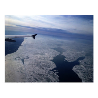 Flight Over Frozen Waters Postcard