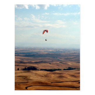 Flight Over the Palouse Postcard
