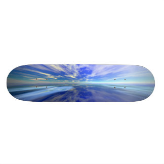 Flight over Water Skate Board Decks