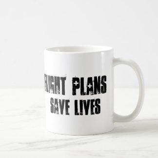 Flight Plans Save Lives Mug