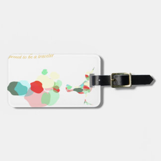 Flight tickets are my currency luggage tag