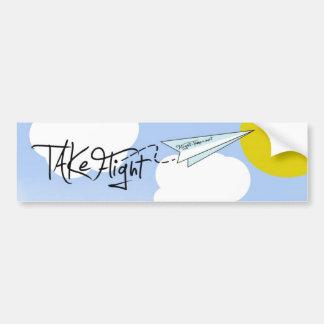 Flight-Times net sticker Bumper Sticker