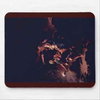 Flight To Egypt By Dietrich Christian Wilhelm Erns Mouse Pad