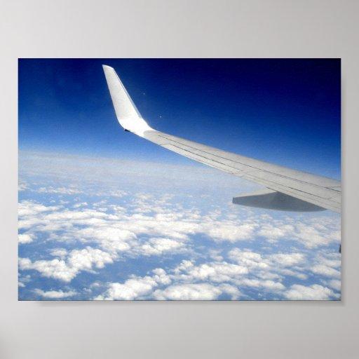 Flight To Milan Print