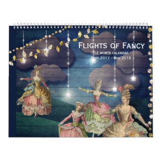 Flights of Fancy Sept - Aug 12 Month Calendar