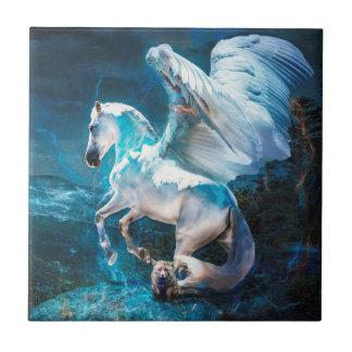 Flights of Fancy Winged Horse Tile