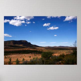 Flinders Ranges Outback Australia Poster