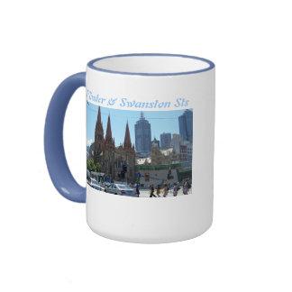 Flinders & Swanston Streets - Melbourne Ringer Coffee Mug