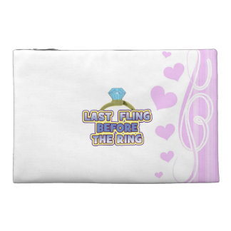 fling before ring bride bachelorette wedding party travel accessories bags