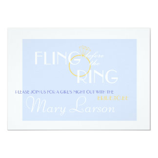 Fling before the Ring Bachelorette Party Invite