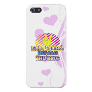 fling ring peace bachelorette wedding bridal cases for iPhone 5