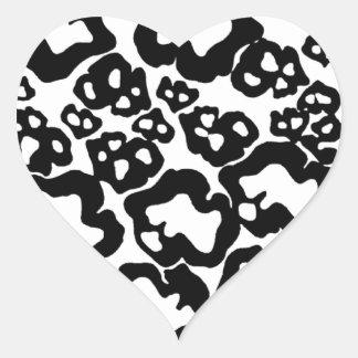 Flinstone Heart Sticker