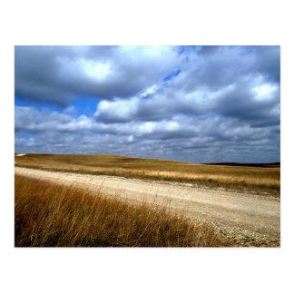 Flint Hill of Kansas Postcard