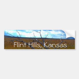 Flint Hills of Kansas bumper sticker