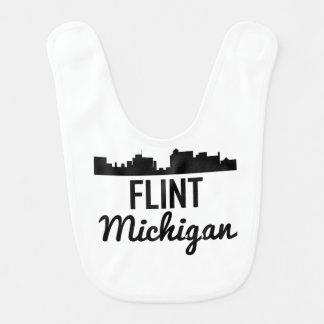 Flint Michigan Skyline Bib