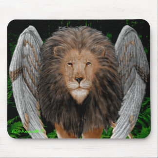 Flion Mousepad (Winged Lion)