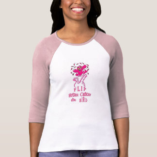 Flip Breast Cancer the Bird T-Shirt