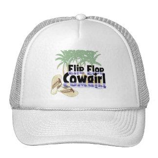 Flip Flop Cowgirl Hat