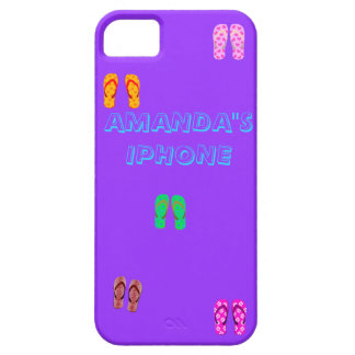 FLIP FLOP FUN IN THE SUN BARELY THERE iPhone 5 CASE