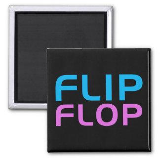 Flip Flop Square Magnet