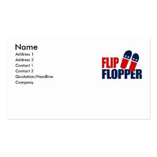 Flip Flopper Romney Pack Of Standard Business Cards
