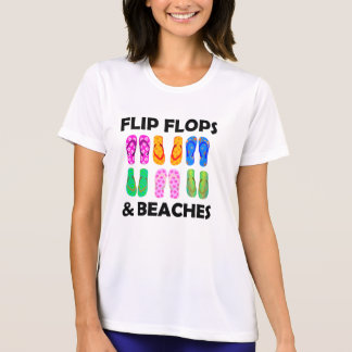 Flip flops and beach T-Shirt