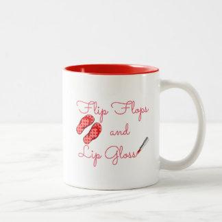 Flip Flops and Lip Gloss Mug