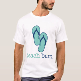 Flip Flops Beach Bum T-Shirt