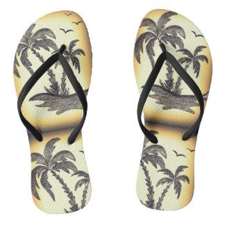 Flip-Flops Custom Adult, Slim Straps Thongs