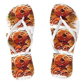 Flip Flops - Cute Teddy Bears