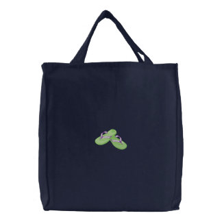 Flip Flops Embroidered Bags